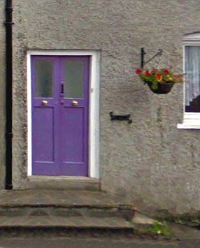 The famous purple door